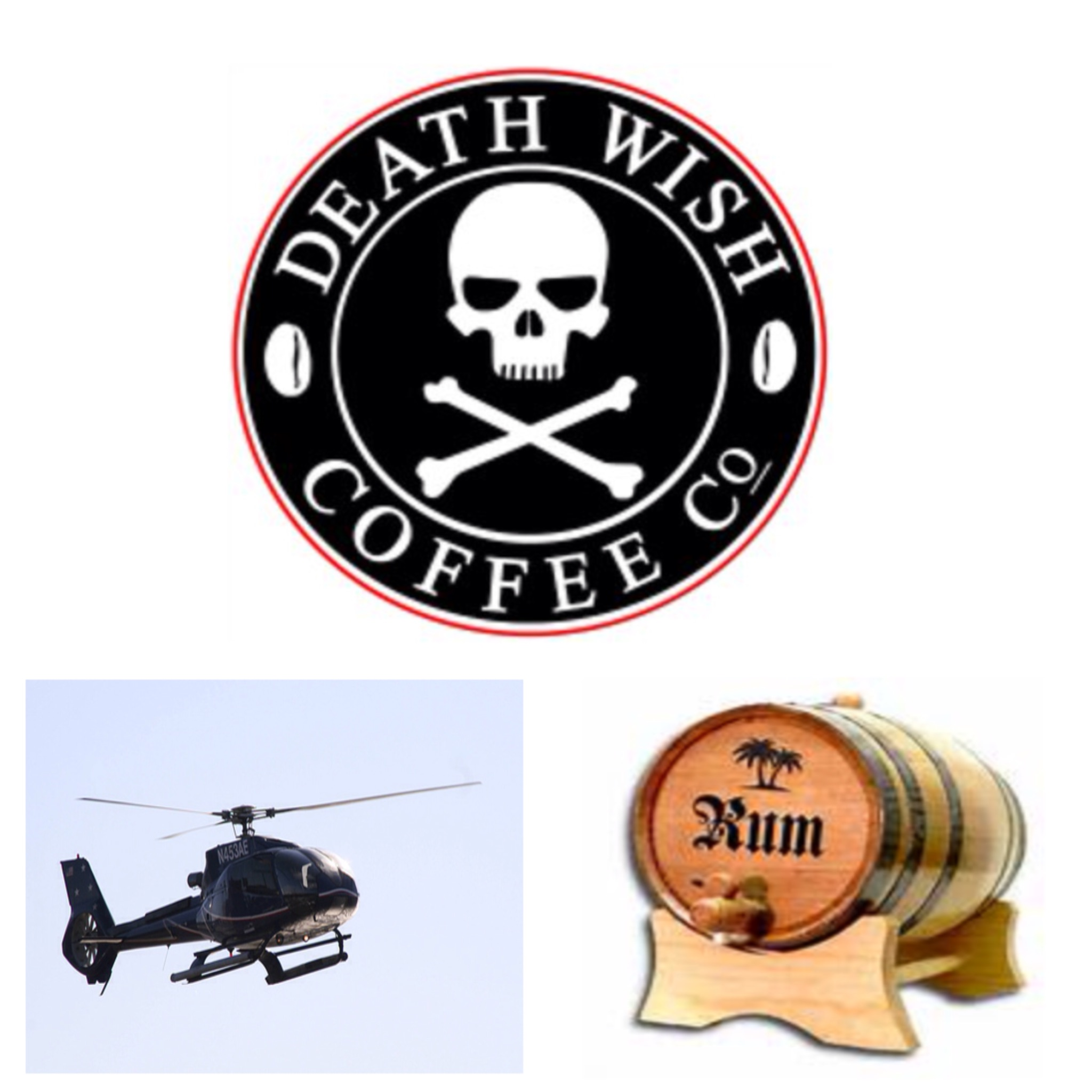 Geek Cast Live Ep042: Death Wish Coffee! Rocket Fuel For Your Face